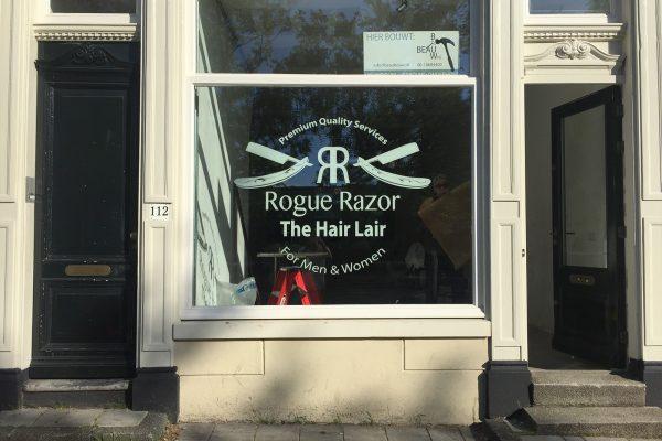 rogue razor raambelettering